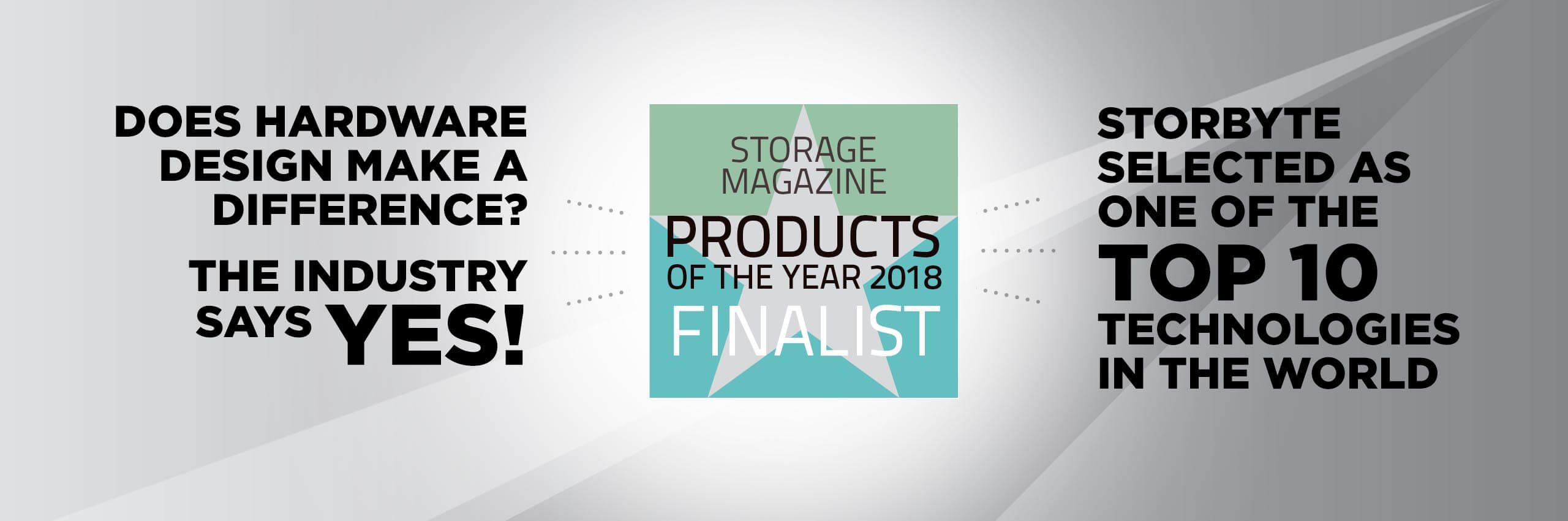 Storbyte Wins Product of the Year
